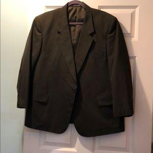 Other - Cross and Winsor Men's Suit. Dark green pinstripe